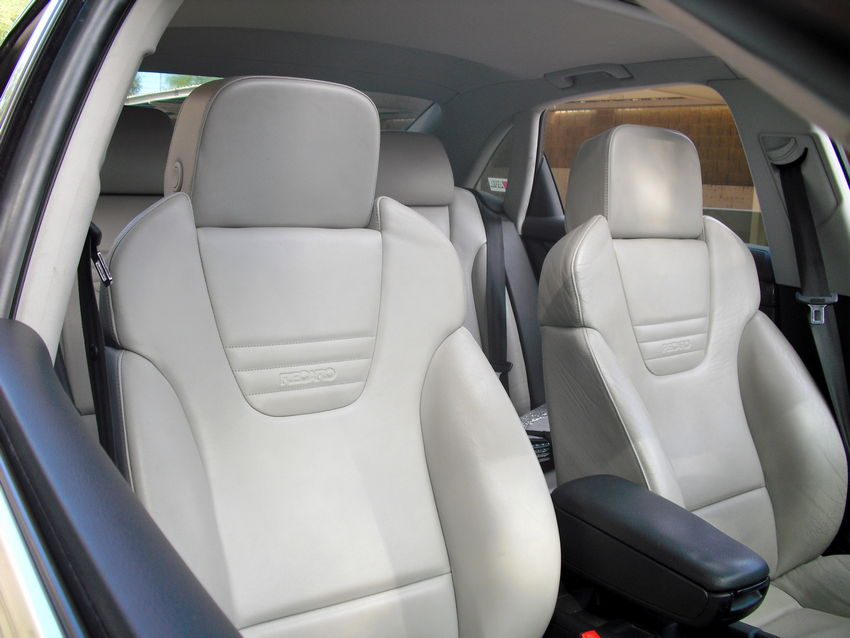 How I Keep My Platinum Silver White Leather Seats Clean Nick S Car Blog