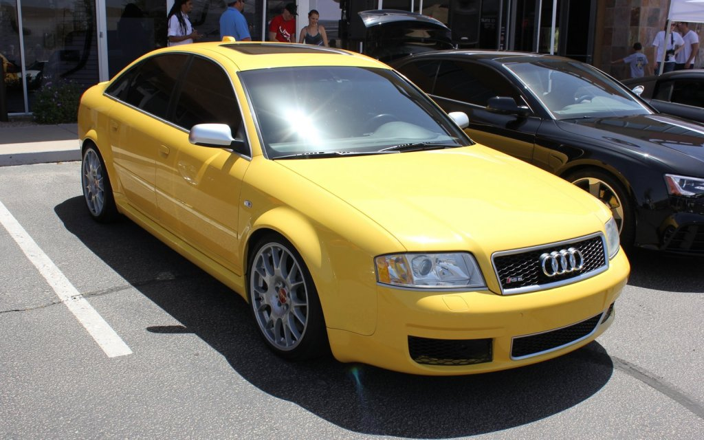 C5 RS6 Imola Yellow