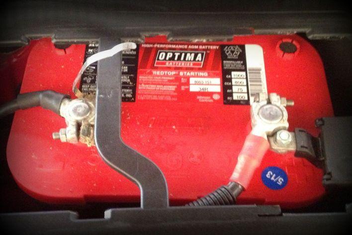 Optima Red Top Audi S4