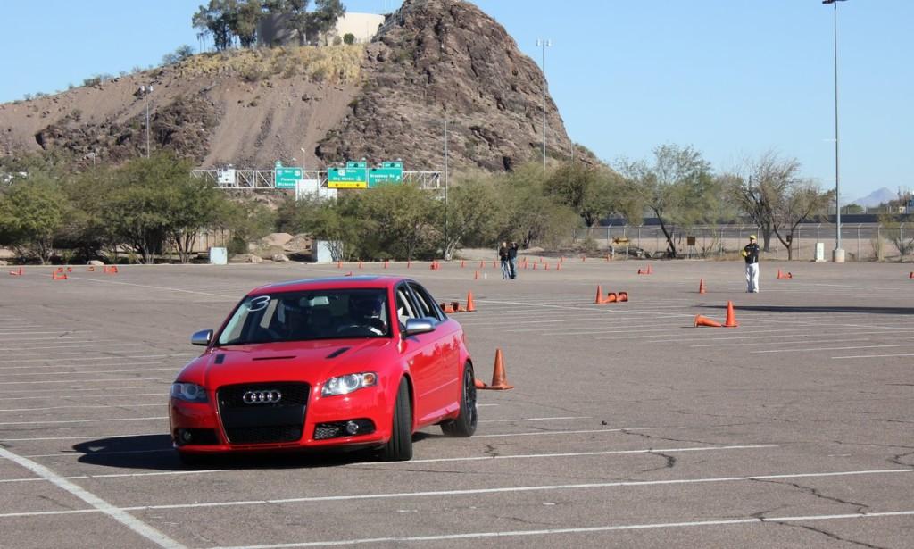 Audi S4 Autocross