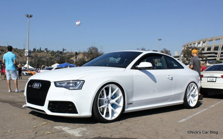 TAG Motorsports White on White RS5