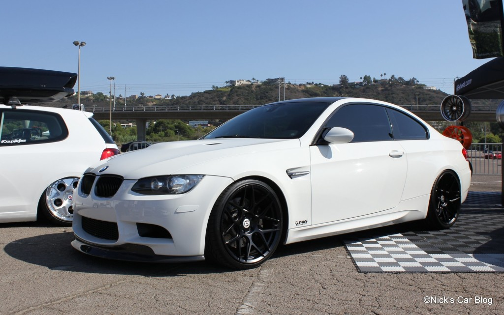 Nick at Tag BMW M3 on HRE FF