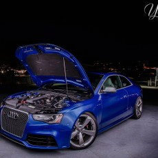 John's Sepang Blue RS5