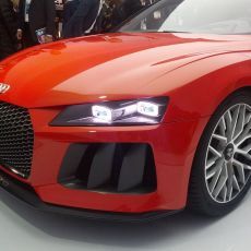 The Audi Sport quattro Laserlight Concept Introduced at CES
