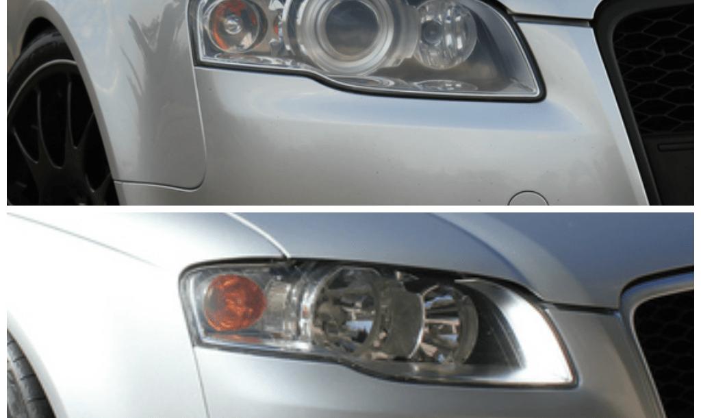 Halogen To Xenon Conversion For B7 Audi A4s 20055 2008 Nicks