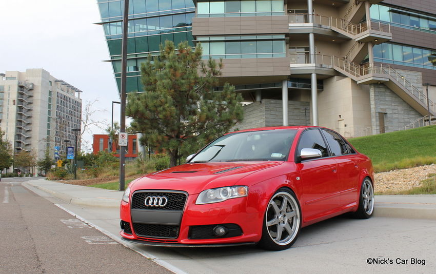 Photo Shoot My B7 Audi S4 On Volk Le37s Nick S Car Blog