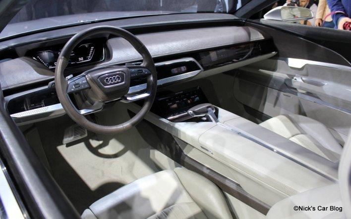 Audi A9 Prologue Concept Interior