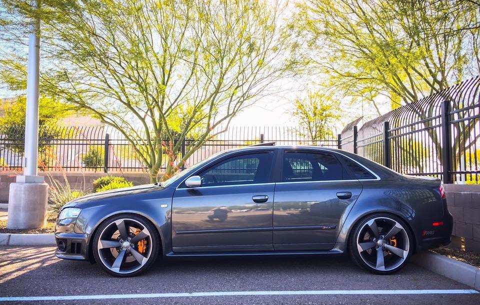 Audis On Oem Rotor Wheels Mega Gallery Nicks Car Blog