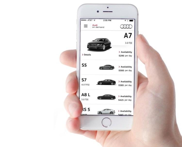 Audi-on-Demand-app