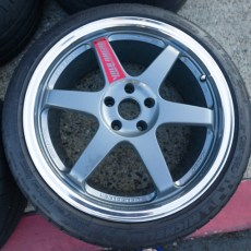 For Sale: Super Rare 19×8.5 ET35 Volk LE37 in 5×112 Audi Fitment