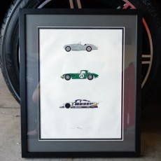 Rear View Prints – Iconic Jaguars