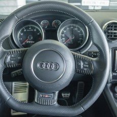 oCarbon TTRS Carbon Fiber Steering Wheel Trim