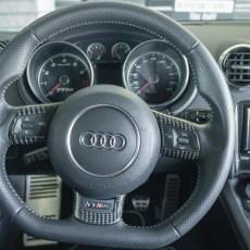 oCarbon TTRS Carbon Fiber Steering Wheel Trim