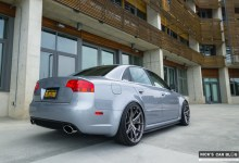 Photo of Oscar's Avus Silver B7 RS4 with Euro Interior