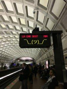 Metro. God Damn It.