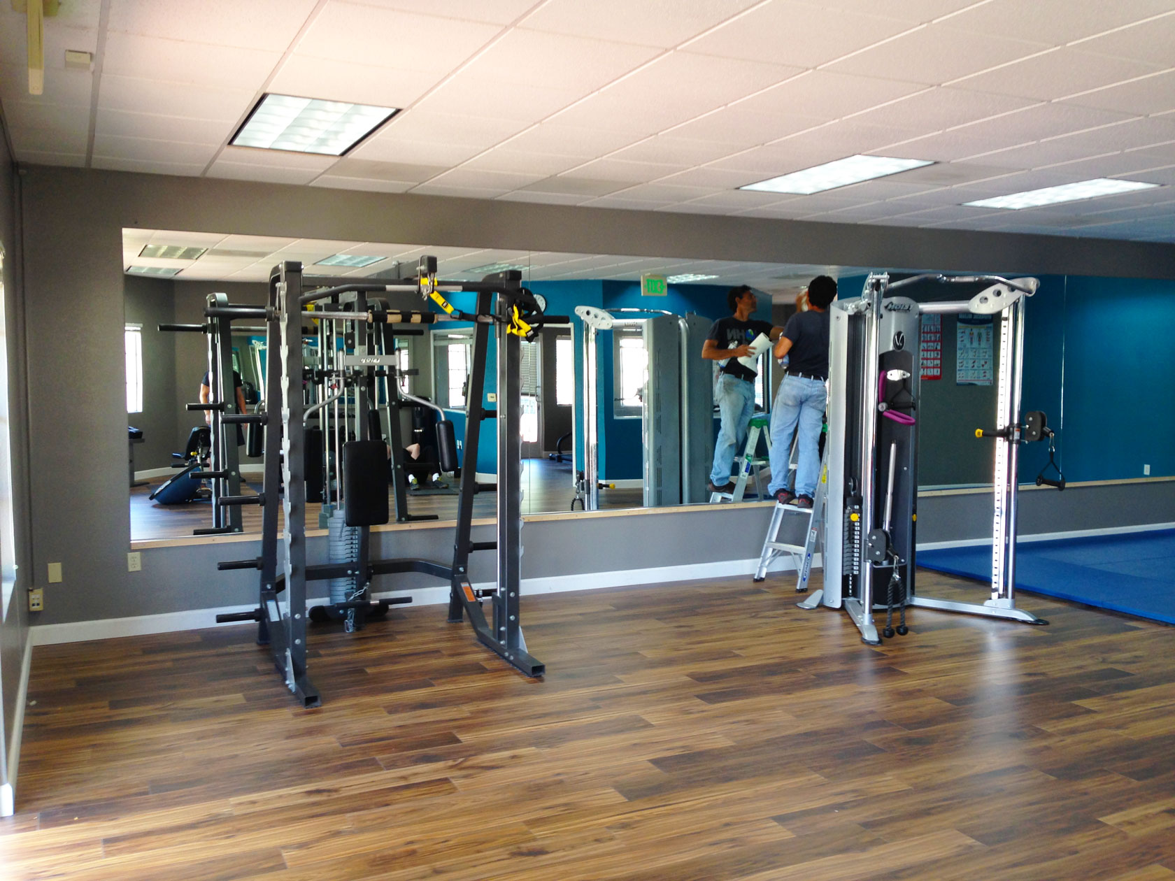 Gym Mirrors Nick S Glass And Mirrors
