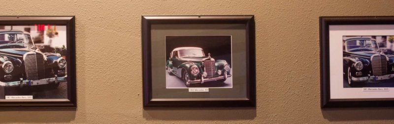 Nick's-Grill-Old-Car-Wall-Poster