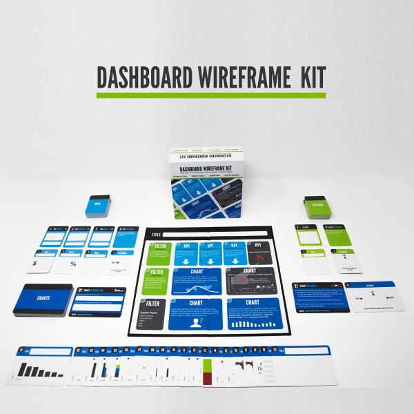 The all new Dashboard Wireframe Kit