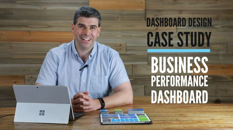 Dashboard Design Case Study - Business Performance Dashboard