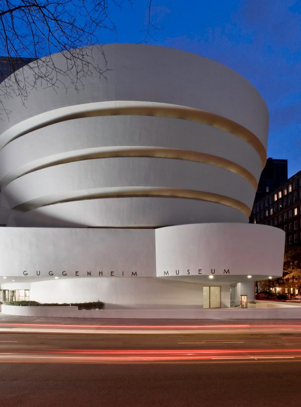 Frank Lloyd Wright Guggenheim Museum New York