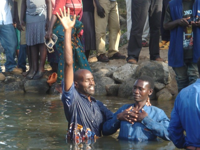 Baptisms of the new believers