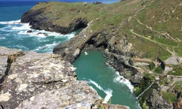 Ferien im Ferienhaus: Cornwall – Meerblick, Luxus, Steilklippen!
