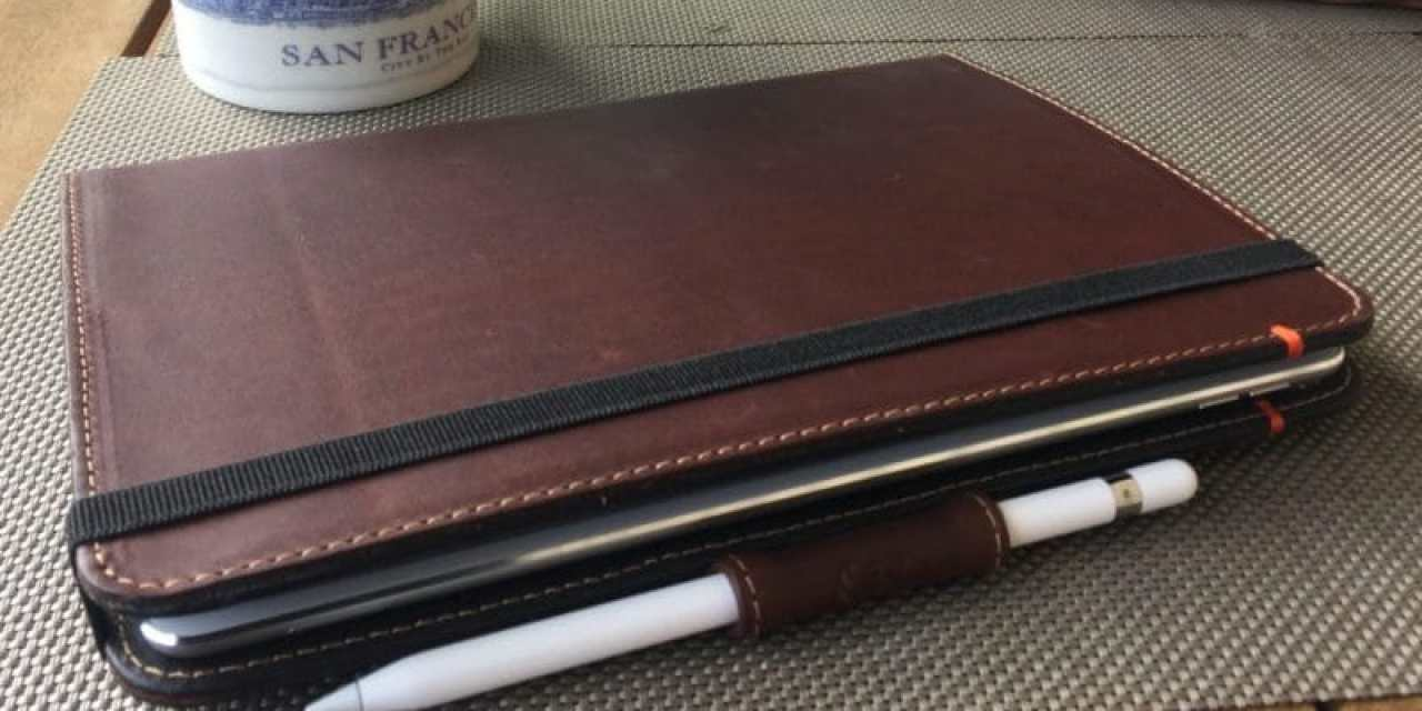 Beste iPad Hülle: Pad&Quill iPad Pro Hülle