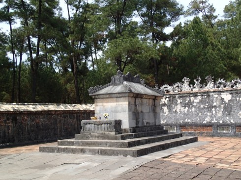 Tu Duc's tomb, which he is not in.