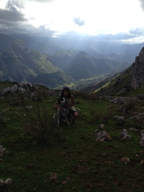 Rae and Walter: International Dog of Intrigue in the Picos.