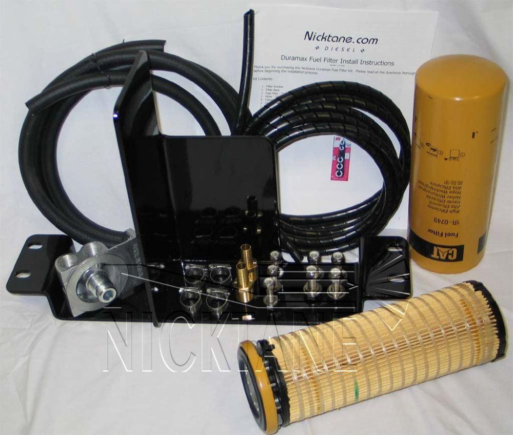 medium resolution of auxiliary fuel filter kit