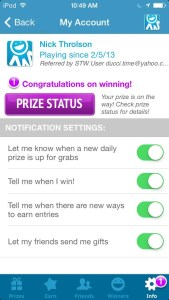 Live To Win App