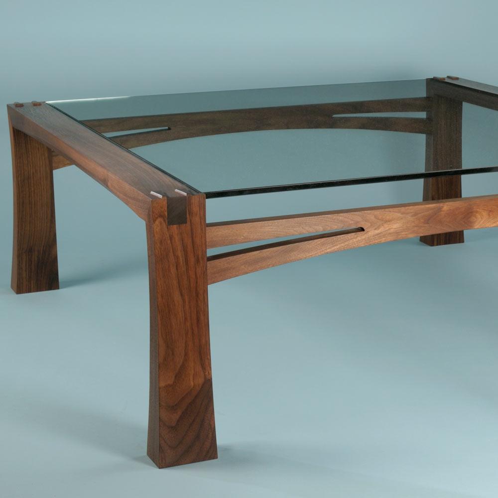 Black walnut low table
