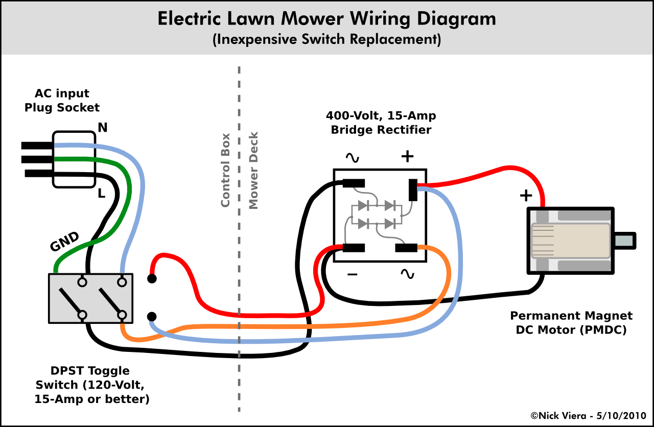 electrical wiring diagram light switch lawn mower ignition 220v motor pio schullieder de u20226 wire dc all