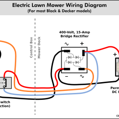 Electricity Wiring Diagrams Lead Tin Phase Diagram Nick Viera Electric Lawn Mower Information