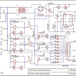 Simple Traffic Light Diagram 1988 Ez Go Gas Golf Cart Wiring Nick Viera Controller Schematic