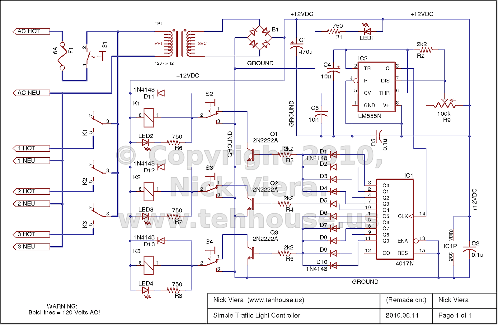 hight resolution of nick viera simple traffic light controller simple traffic light controller schematic