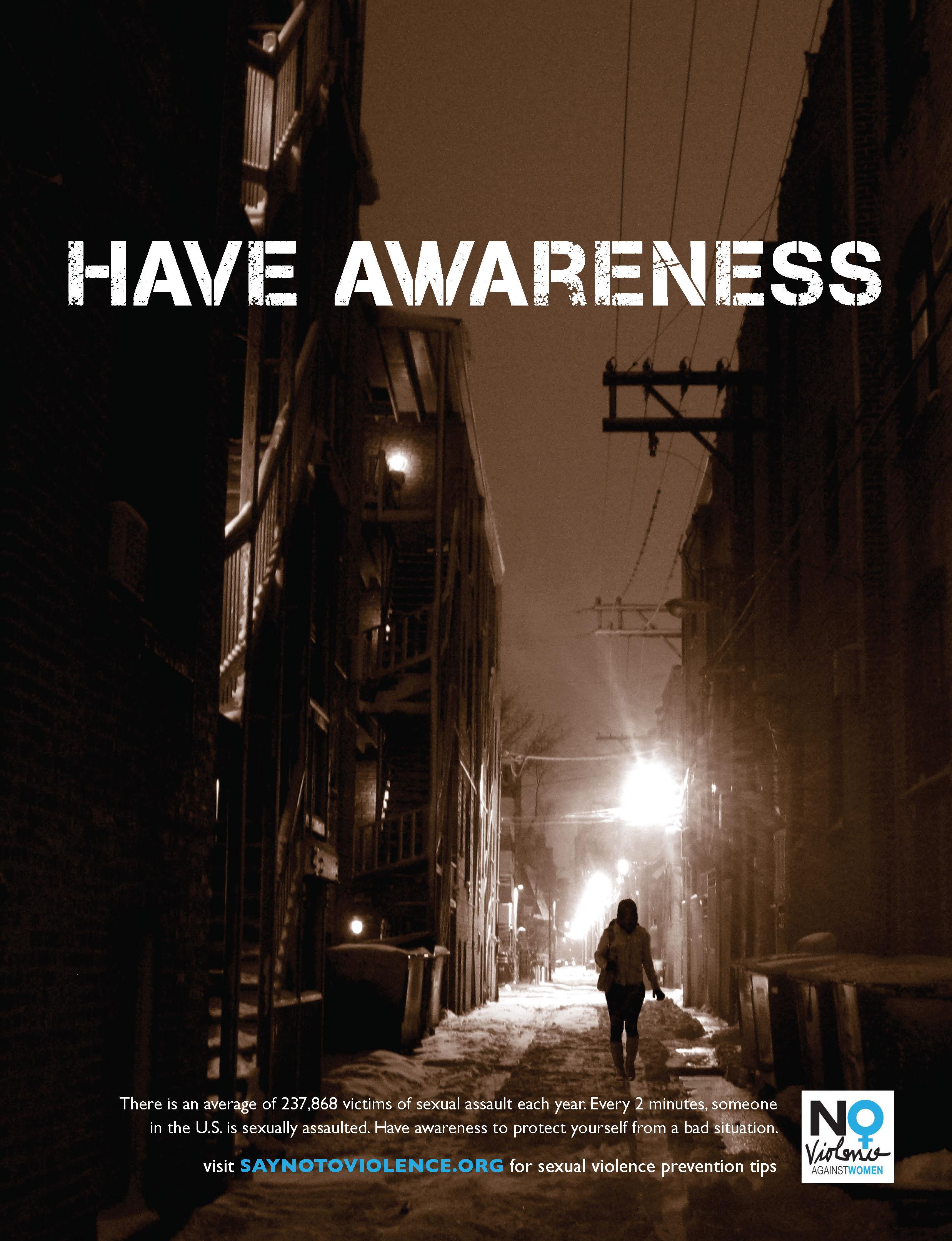 Rape Prevention Public Service Ads  Nick Vondra Graphic