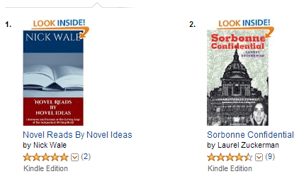 Novel Ideas magazine hits number one