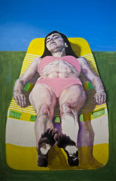 Sunbather, work in progress
