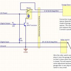 Wiring Diagram For Garage Door Opener John Deere Model A Nickwideas Fine Wordpress Site