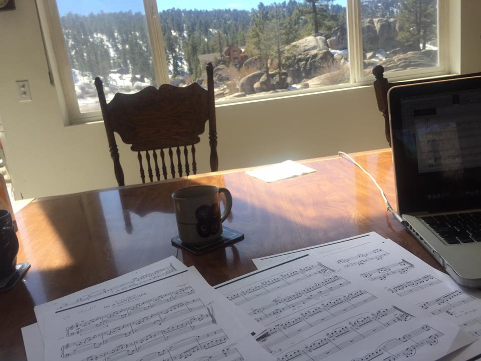 Arranging John Cage's In A Landscape for chamber orchestra