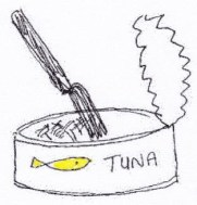 tuna colour