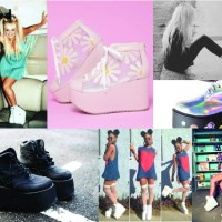 STYLE: Throwback Thursday Baby Spice Platform Sneakers