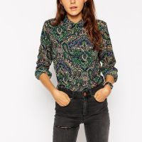 STYLE: After Work Wednesdays Vintage Paisley Blouse by ASOS