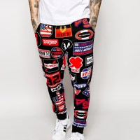 STYLE: Loungewear Sundays Printed Joggers by Love Moschino
