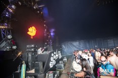 Sweater Beats performs at the Girls & Boys stage at Mysteryland 2015