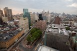 New York City Skyline View from the Annie O Music Series in the Penthouse at The Standard, East Village with ASTR on July 30, 2015