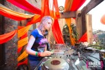 Nora En Pure performs at the Girls & Boys stage at BangOn!NYC's Elements Festival