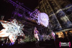 Shpongle's Simon Posford (aka Hallucinogen) performs on the Earth Stage at BangOn!NYC's Elements Festival