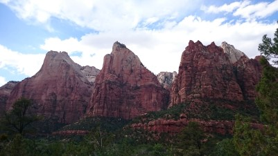 Court of the Patriarchs - Zion National Park - USA